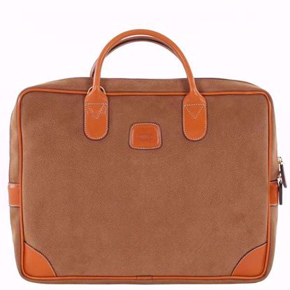 Bric's laptop briefcase large Life camel BLF15132.216