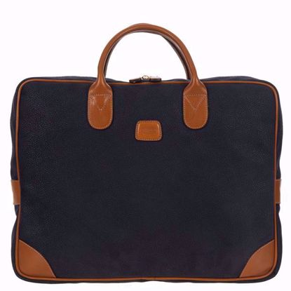 Bric's laptop briefcase large Life blue BLF15132.396