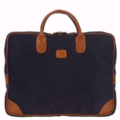 Bric's laptop briefcase large Life blue BLF15132.396