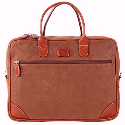 Bric's laptop briefcase medium Life camel BLF15133.216