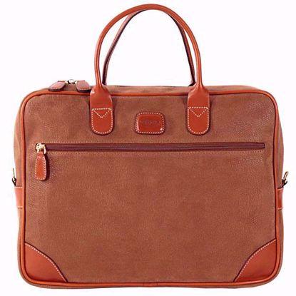 Bric's laptop briefcase medium Life camel BLF15133.216