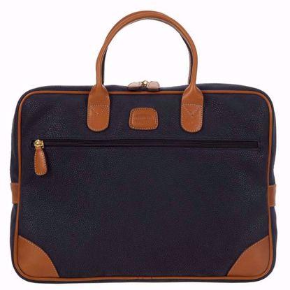 Bric's laptop briefcase medium Life blue BLF15133.396