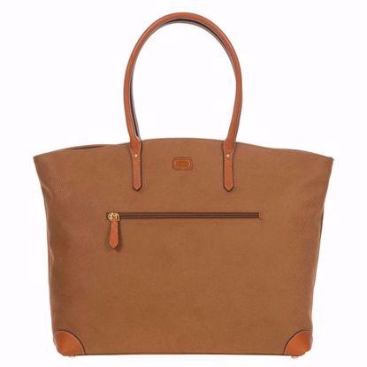 Bric's tote bag Life camel BLF53330.216