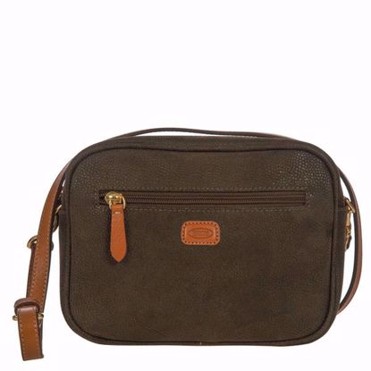 Bric's crossbody bag mini Life olive BLF53375.378