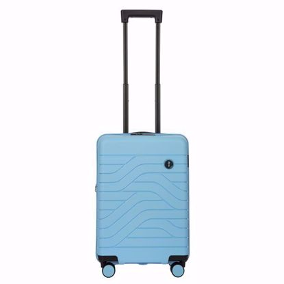 Bric's cabin luggage Ulisse expandable blue sky B1Y08430.022
