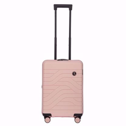 Bric's cabin luggage Ulisse expandable pearl pink  B1Y08430.254