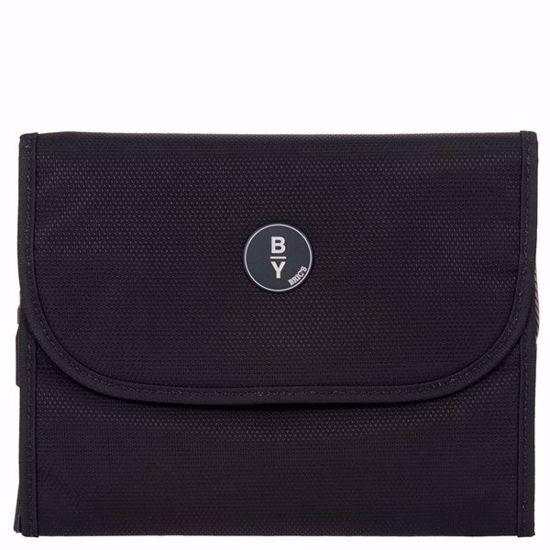 Bric's toiletry bag Itaca B Y tri-fold small black B2Y00607.001
