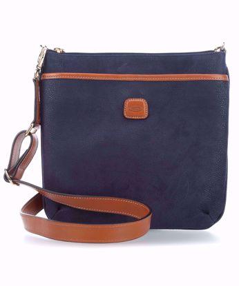 Bric's shoulder bag Life large blue BLF02733.396