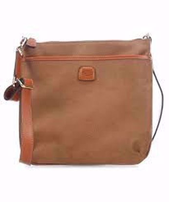 Bric's shoulder bag Life large camel BLF02733.216