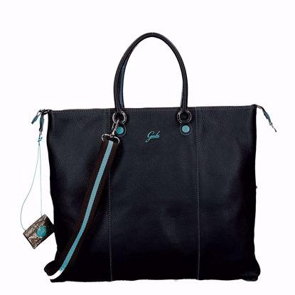 Gabs G3 Plus borsa trasformabile L ruga nero
