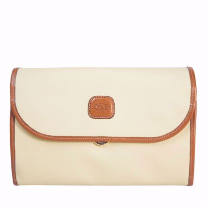 Bric's toiletry bag tri-fold Firenze cream BBJ00676.014