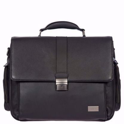 Bric's leather briefcase 24 hours Torino black BR107706.001