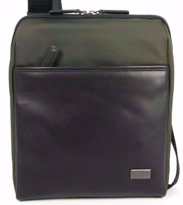 Bric's shoulder bag for men L Monza olive BR207709.078