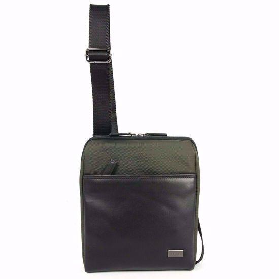 Bric's shoulder bag for men L Monza olive BR207709.078