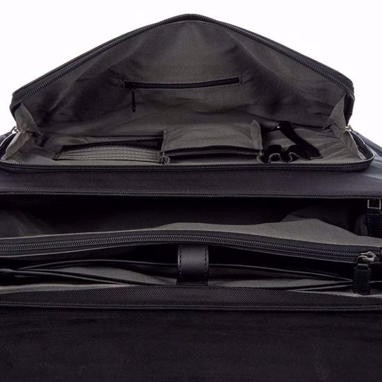 Bric's leather briefcase 24 hours Monza black BR207706.909