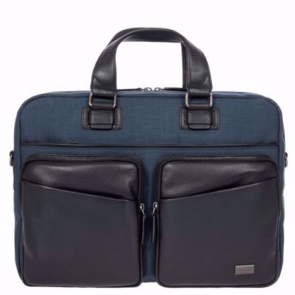 Bric's briefcase for laptop Monza navy BR207705.511