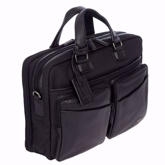 Bric's briefcase for laptop Monza large black BR207704.909