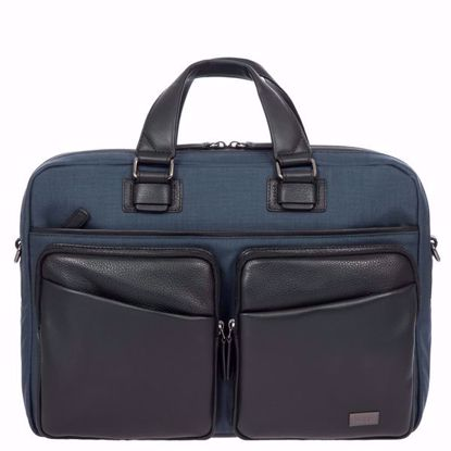 Bric's briefcase for laptop large  Monza navy BR207704.511