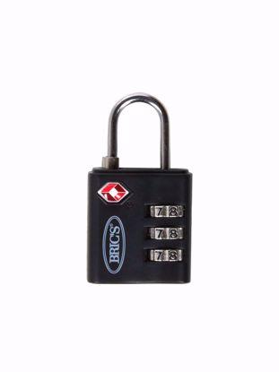 Bric's TSA padlock black BBS03634.001