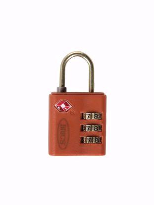 Bric's TSA padlock brown BBS03634.003
