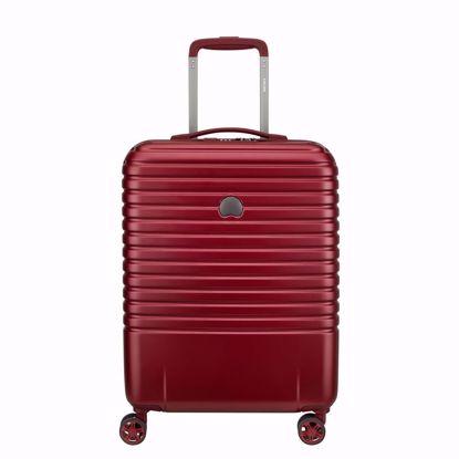 Delsey valigia cabina Caumartin plus 55 cm slim bordeaux