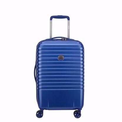 Delsey valigia cabina Caumartin plus 55 blu