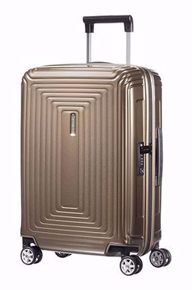 Samsonite trolley bagaglio a mano Neopulse 55cm metallic sand , Samsonite cabin luggage Neopulse 55cm metallic sand