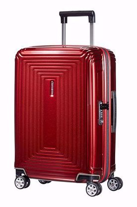 Samsonite trolley bagaglio a mano Neopulse 55cm metallic red , Samsonite trolley bagaglio a mano Neopulse 55cm metallic red