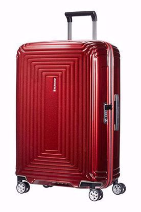 Samsonite valigia Neopulse spinner 69 cm metallic red , Samsonite luggage Neopulse spinner 69 cm metallic red