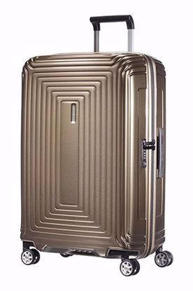 Samsonite valigia Neopulse spinner 69 cm metallic sand , Samsonite luggage Neopulse spinner 69 cm metallic sand