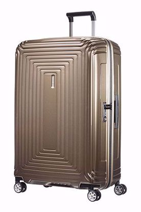 Samsonite valigia Neopulse spinner 75cm metallic sand , Samsonite luggage Neopulse spinner 75 cm metallic blue