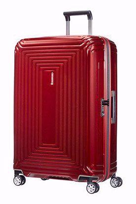 Samsonite luggage Neopulse spinner 75 cm metallic red , Samsonite valigia Neopulse spinner 75cm metallic red