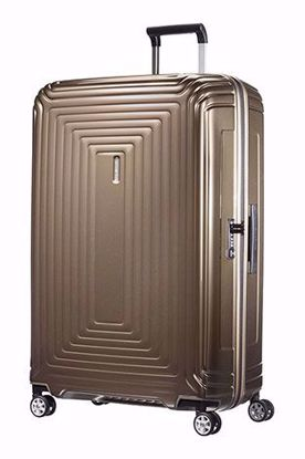 Samsonite valigia Neopulse 81 cm spinner metallic sand , Samsonite luggage Neopulse spinner 81 cm metallic sand