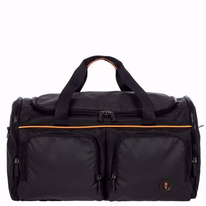 Bric's duffle bag Eolo with pockets black B2Y00261.001