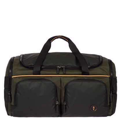Bric's duffle bag Eolo with pockets olive B2Y00261.078