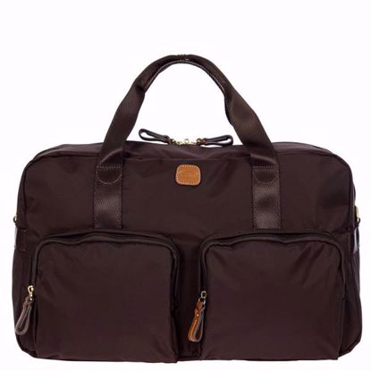 Bric's duffle bag X-Travel with pockets mocca BXL42192.207