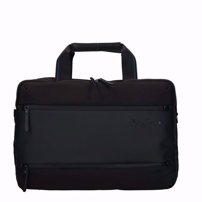 cartella porta pc Mr Gabs nero,briefcase Mr Gabs black