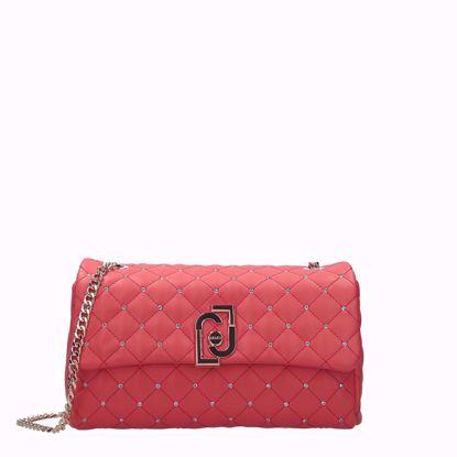 Liu Jo the LJ bag borsa it bag M coral red