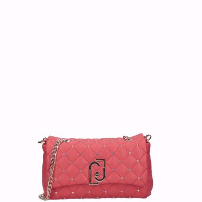 Liu Jo  the LJ bag borsa it bag S coral red