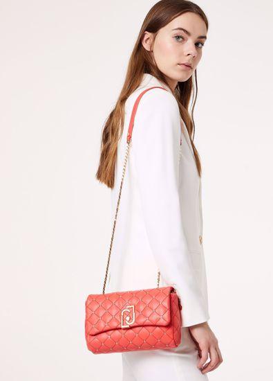 Liu Jo  the LJ bag borsa it bag S coral red