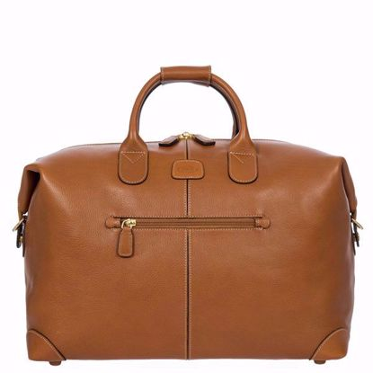 "Bric's leather duffle bag Life Pelle 18"" brown BPL20203.098"