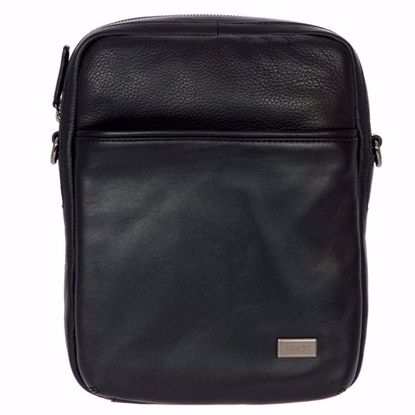 Bric's leather shoulder bag for men Torino black BR107708.001
