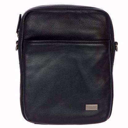 Bric's leather shoulder bag for men Torino black BR107708.001