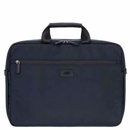 Bric's laptop briefcase Pisa blue BIG05386.006