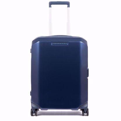 Piquadro trolley cabina ultra slim Piq3 blu