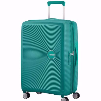 American Tourister valigia Soundbox 67 cm espandibile forest green