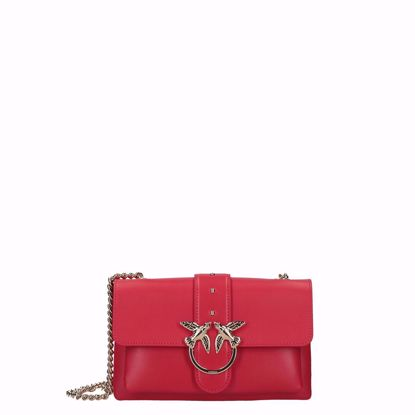 Pinko love bag mini Soft Simply red