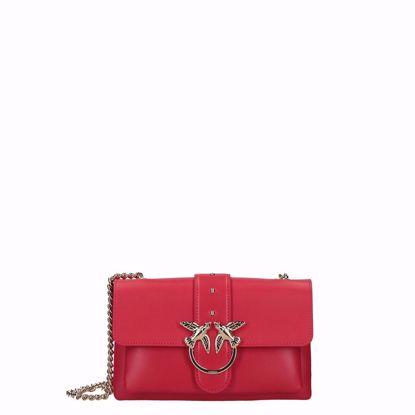 Pinko love bag mini Soft Simply red