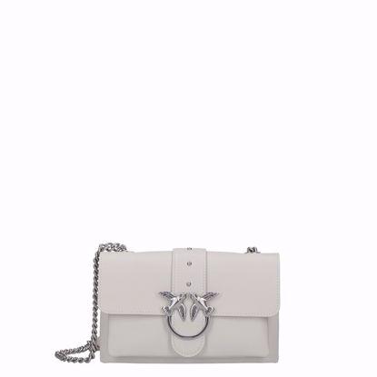 Pinko love bag mini Soft Simply white