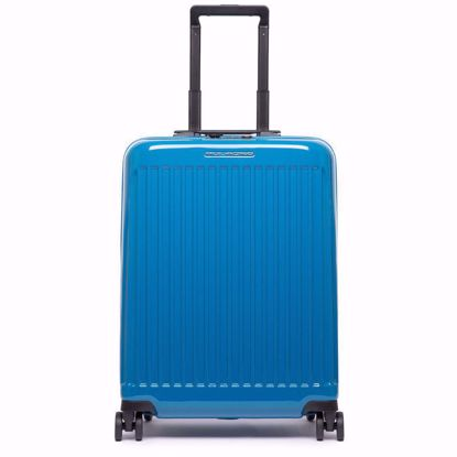 Piquadro trolley cabina ultra slim Seeker blu